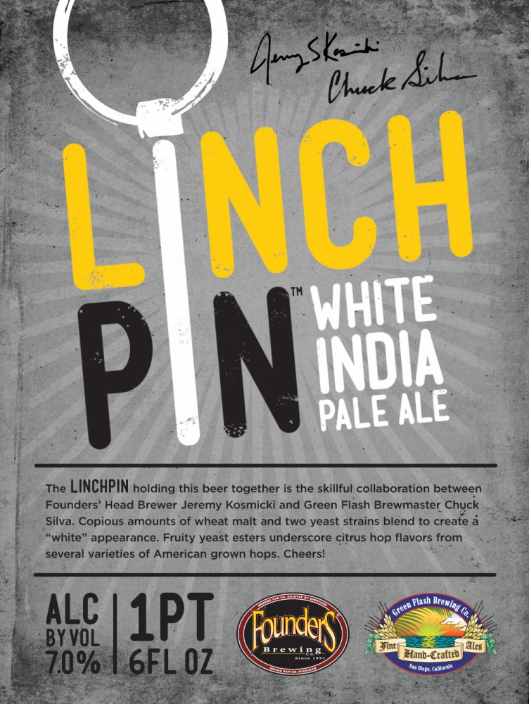 Linchpin White IPA event poster