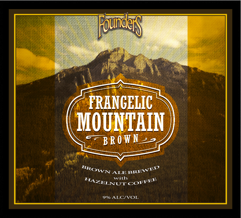 Founders Frangelic Mountain Brown ale logo