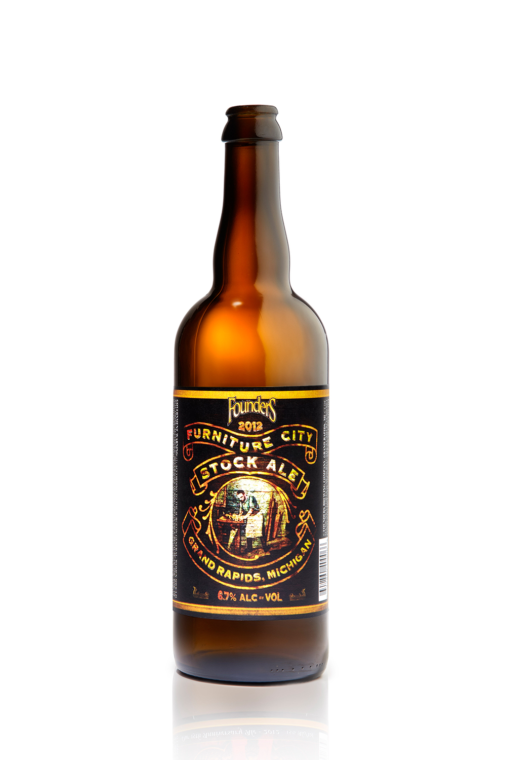 Furniture City Stock Ale bottle shot