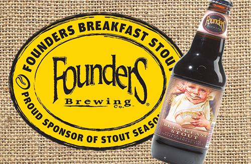 Founders Breakfast Stout beer bottle