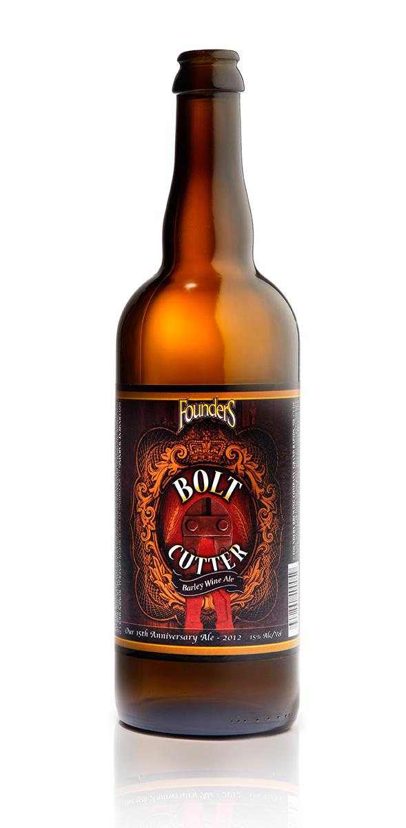 Founders Bolt Cutter beer bottle