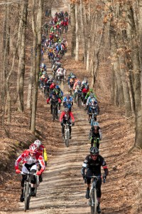 Sager Road from 2012 Barry-Roubaix Race