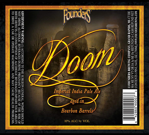 Founders Doom Imperial IPA logo