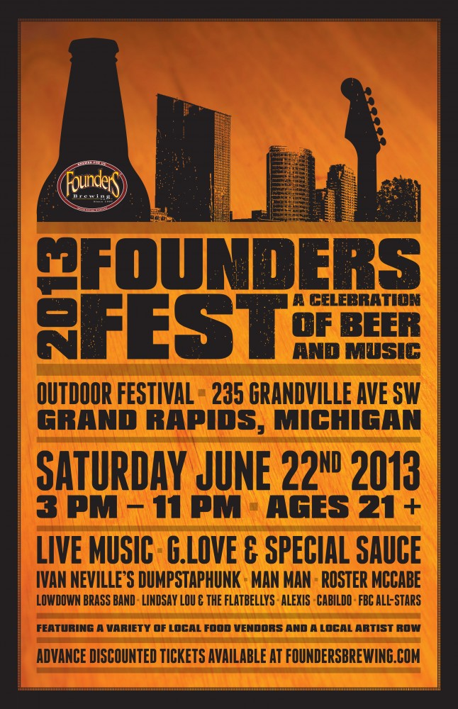 Founders Fest 2013 Poster
