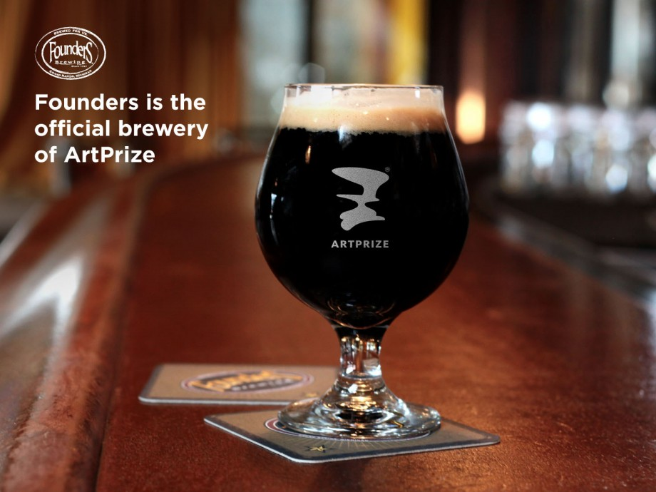 Founders Is the Official Brewery of ArtPrize - Founders