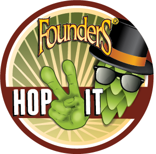 Founders Hop 2 It Untappd badge