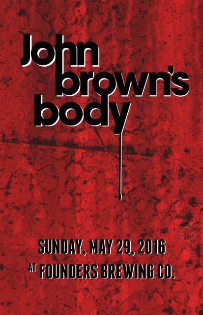 John Brown's Body band poster