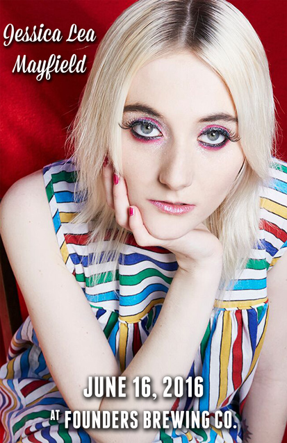 Jessica Lea Mayfield band poster