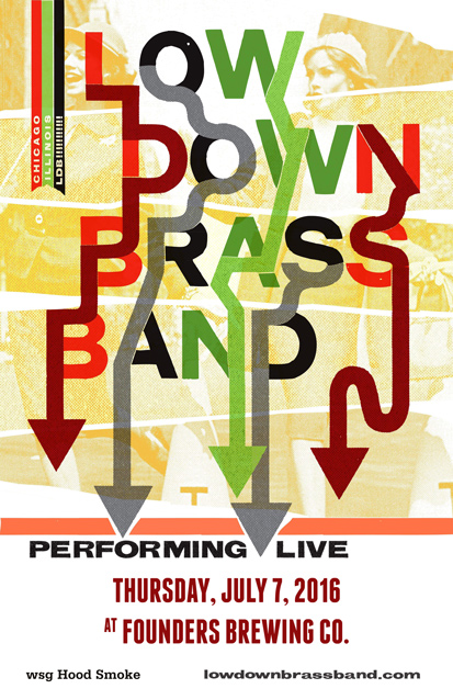 Low Down Brass Band poster