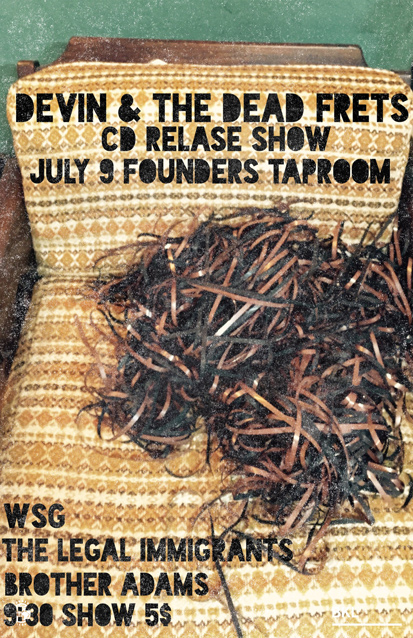 Devin and the Dead Frets band poster
