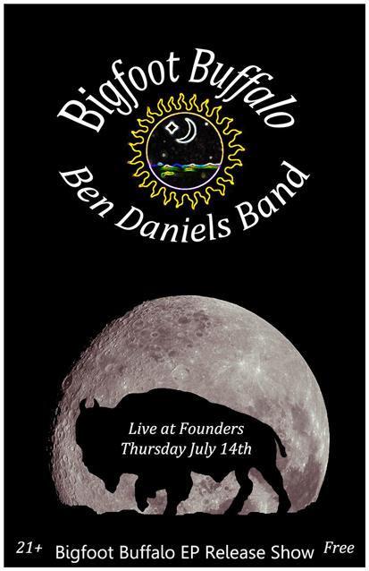 Bigfoot Buffalo band poster