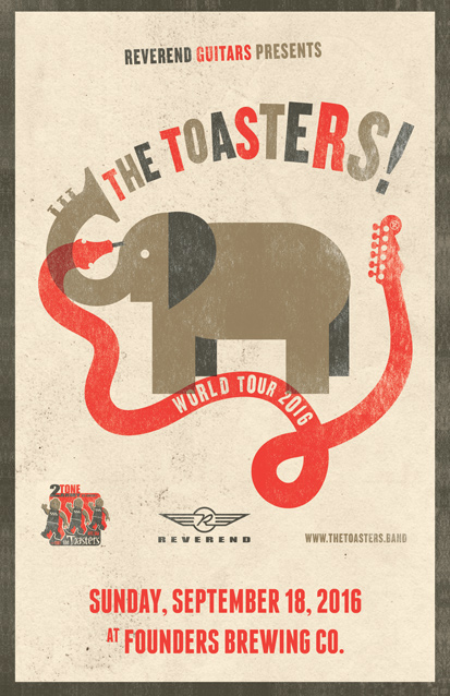 The Toasters band poster