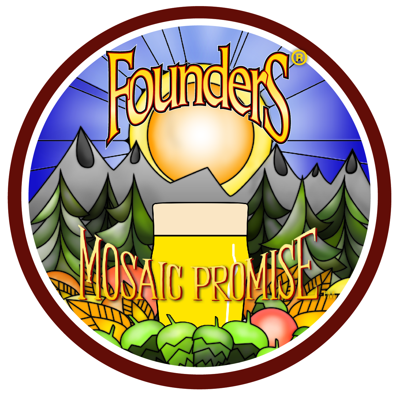 Mosaic Promise Untappd Badge