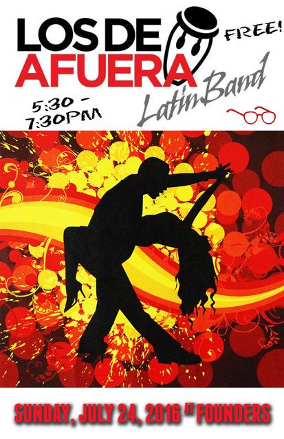 Los De Afura band poster