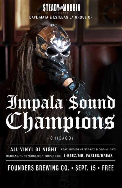 Impala Sound Champions band poster