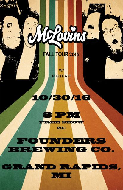 Mclovins band poster