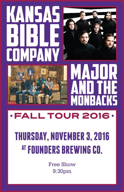 Kansas Bible Company band poster
