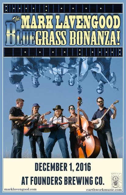 The Mark Lavengood Blue Grass Bonanza band poster