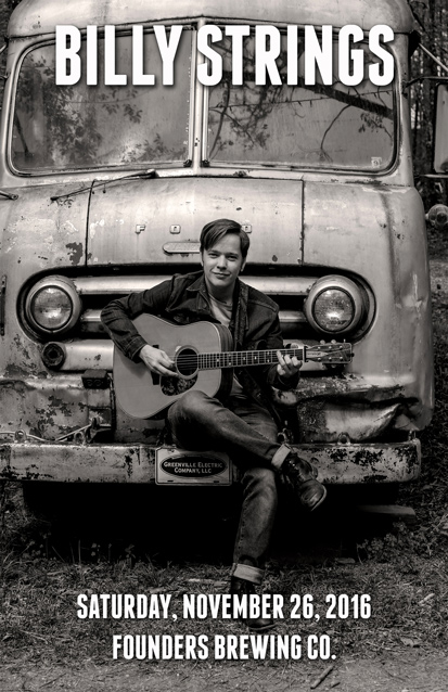 Billy Strings band poster