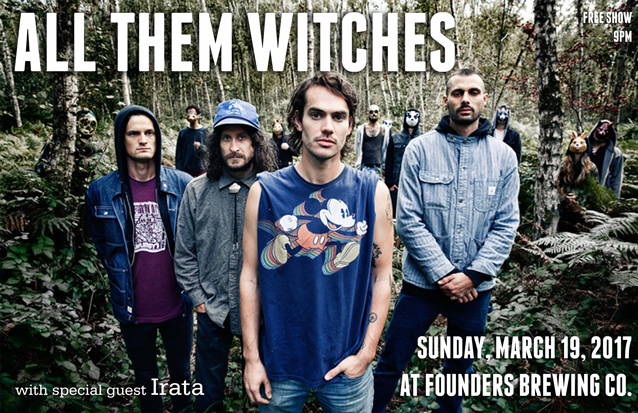 All Them Witches band poster