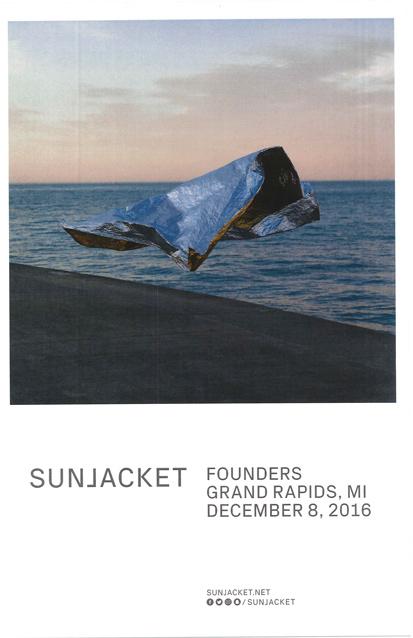 Sunjacket band poster