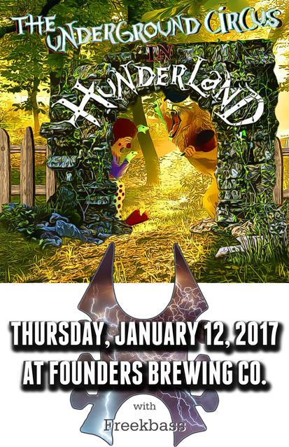 The Underground Circus band poster