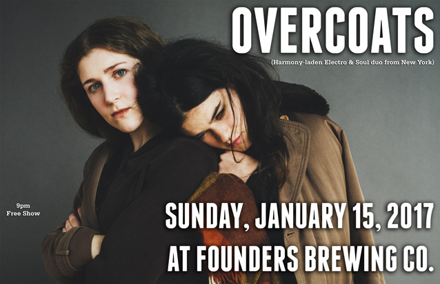Overcoats band poster