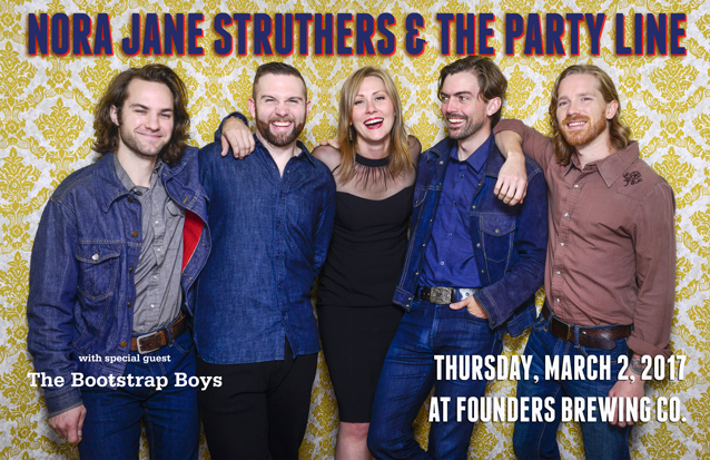 Nora Jane Struthers & The Party Line band poster