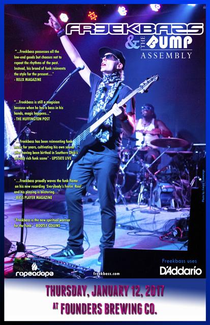Freekbass band poster