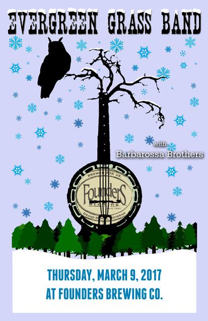 Evergreen Grass Band poster