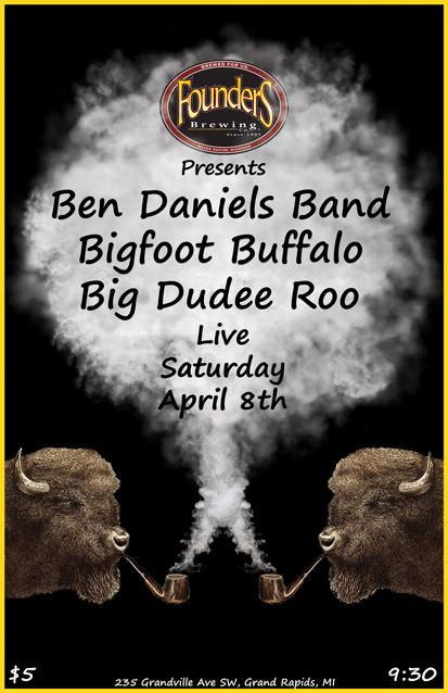 Ben Daniels Band poster