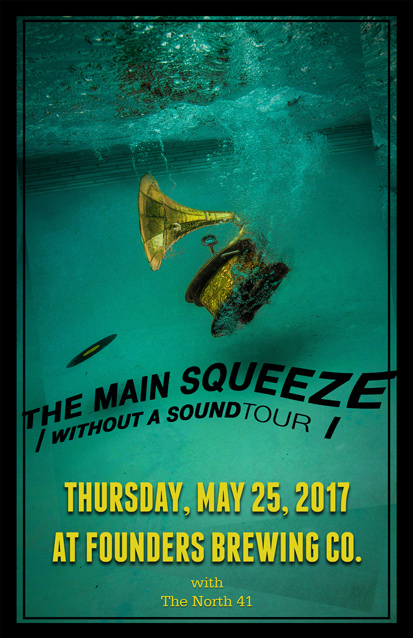 The Main Squeeze band poster