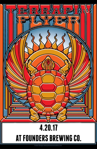 Terrapin Flyer band poster