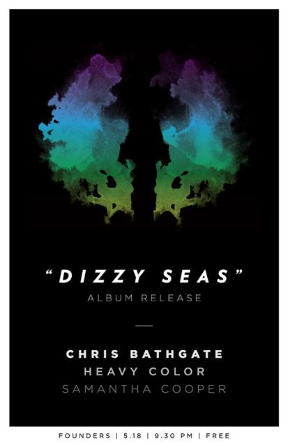 Dizzy Seas band poster