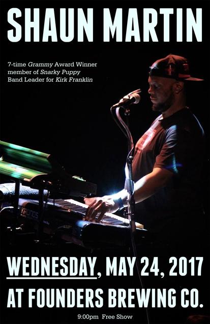 Shaun Martin band poster
