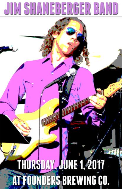 Jim Shaneberger band poster