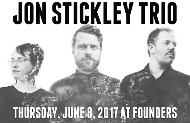 Jon Stickley Trio band poster