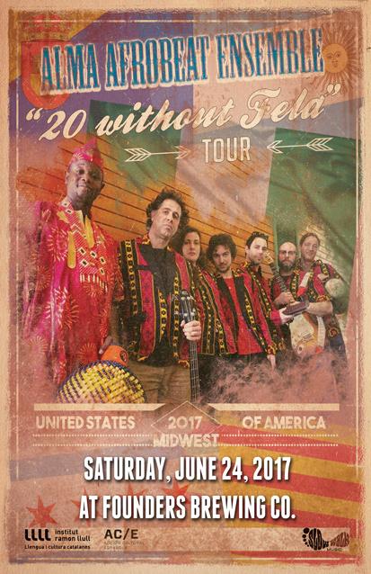 Alma Afrobeat Ensemble band poster