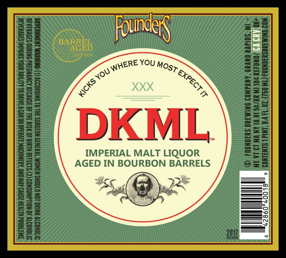 Founders - New Barrel-Aged Series Release: DKML