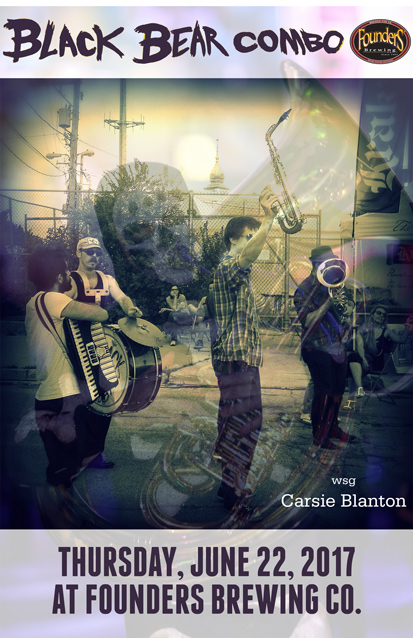 Black Bear Combo band poster