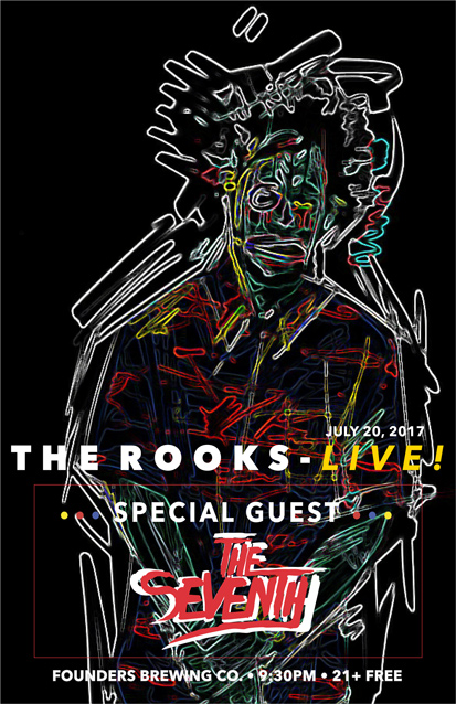 The Rooks band poster