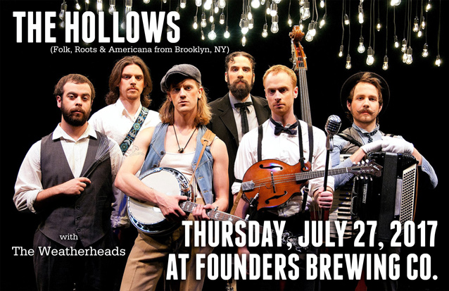 The Hollows band poster