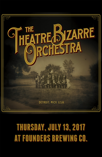 The Theater Bizarre Orchestra band poster