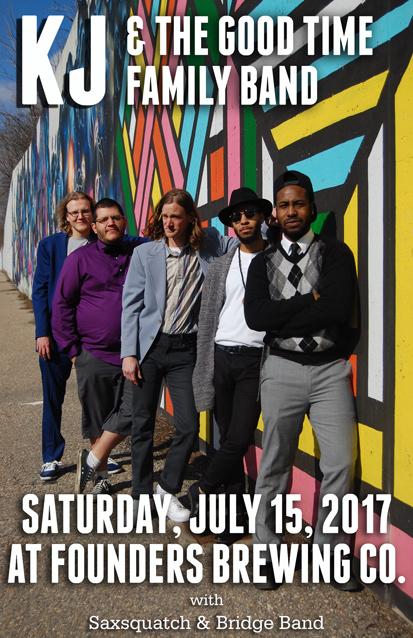 KJ & The Good Time Family Band poster