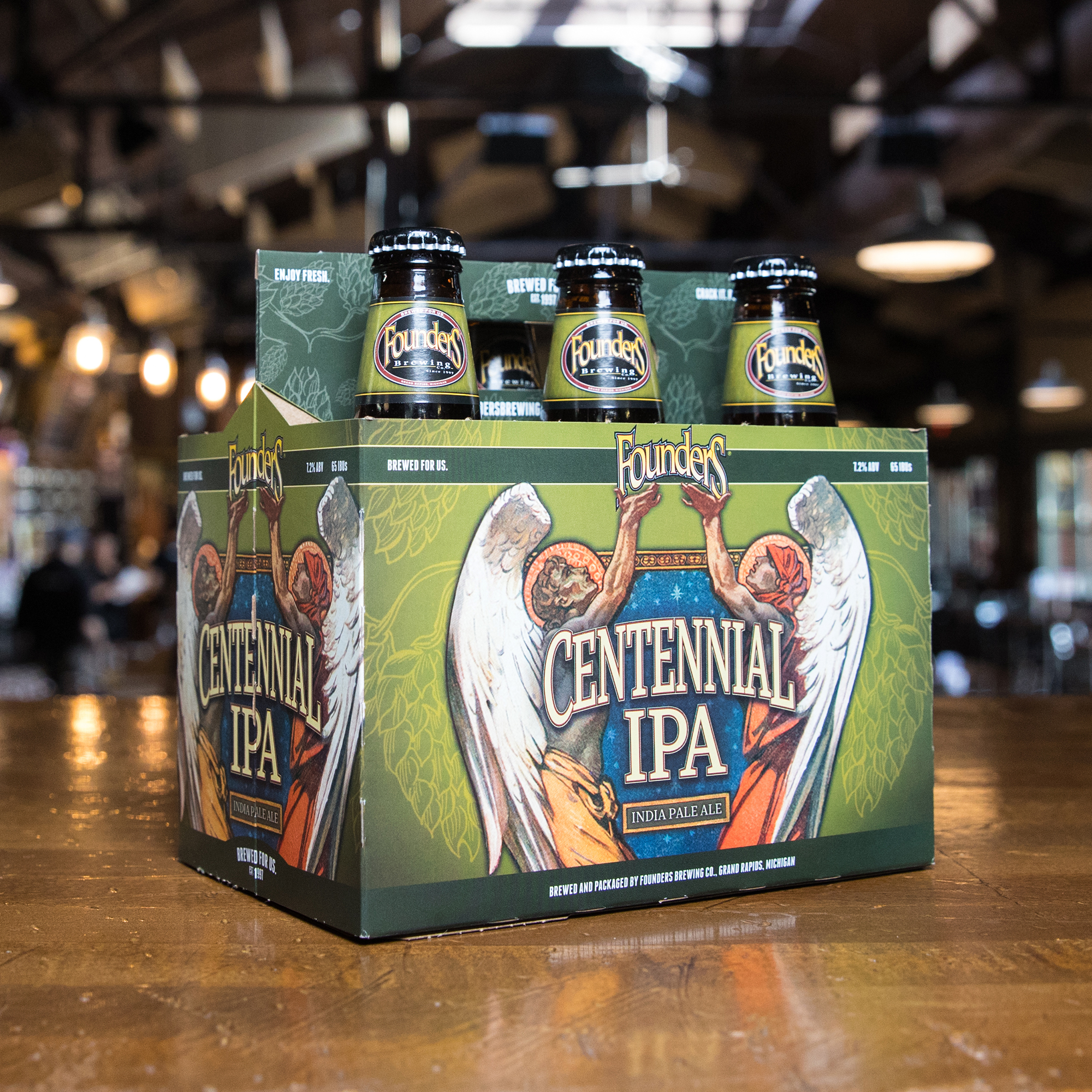 Founder's 6 pack of Centennial IPA