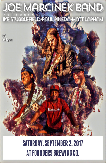 Joe Marcinek band poster