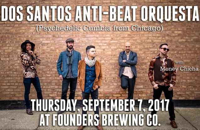 Dos Santos Anti-Beat Orquesta band poster