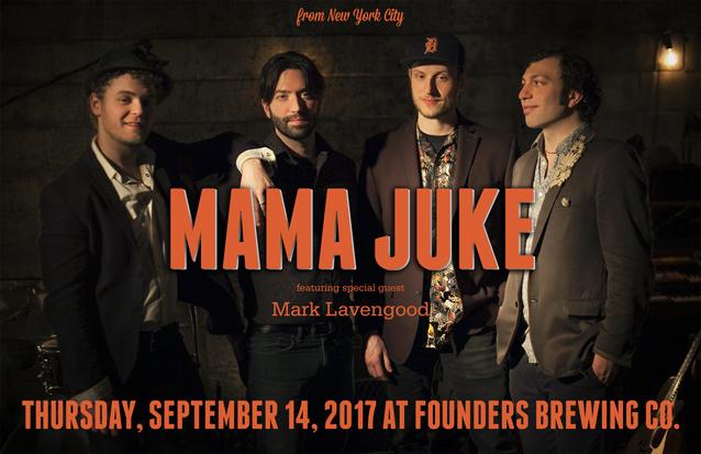 Mama Juke band poster