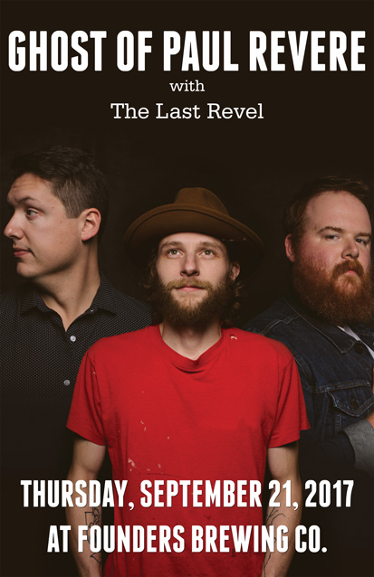 The Last Revel & The Ghost of Paul Revere band poster