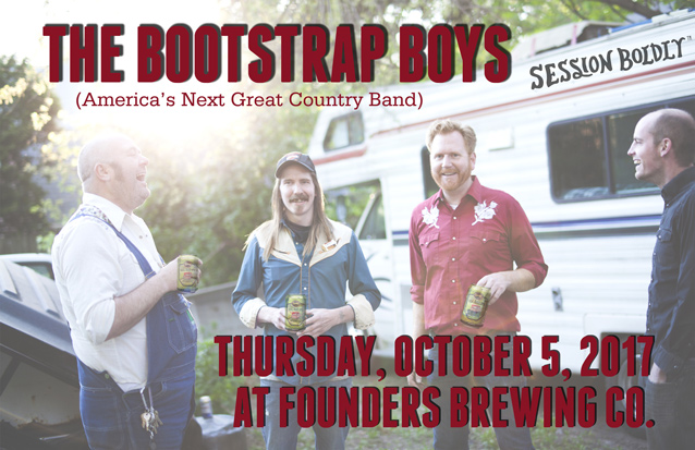 The Bootstrap Boys band poster